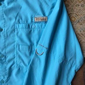 Columbia Shirts - Columbia PFG Button Down Shirt